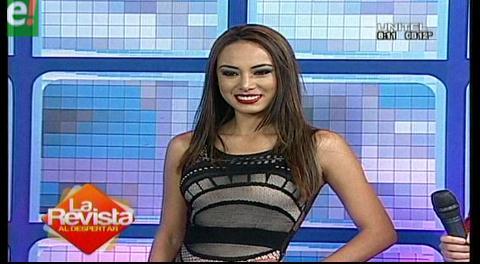 Conoce a Katherine Añazgo, Miss Tarija 2016