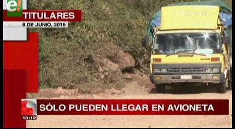 Titulares de TV: Autoridades y transportistas de los valles denuncian pésimas condiciones de las carreteras