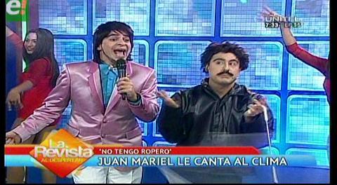 «No tengo ropero» el nuevo hit de Juan Mariel