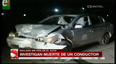 Encuentran a un hombre muerto en el interior de su vehículo