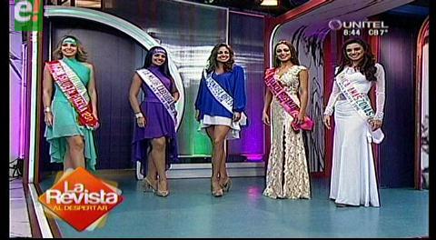Entregaron 5 títulos previos al Miss Bolivia Universo 2016
