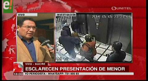 Caso Zapata. Los involucrados habrían preparado al niño para una entrevista con CNN