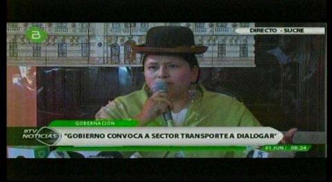 Gobierno esperará hasta las 14h00 antes de trasladar la Cumbre de Justicia a Cochabamba y cambiar la fecha