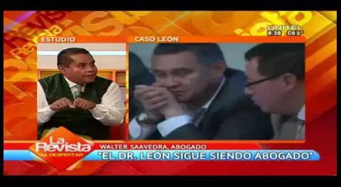 """Abogado ve """"desesperación"""" por involucrar a Eduardo León en delitos"""