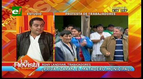 Santa Cruz: Trabajadores denuncian posible privatización del Matadero municipal