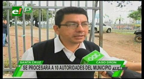 Fiscalía citará a Canudas por la compra del dron