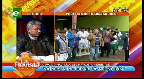 Gerente del matadero municipal rechaza las acusaciones por corrupción