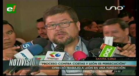 Samuel dice que los procesos contra Costas y León son una persecución política