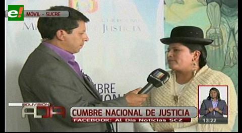 Ministra de Justicia detalló los temas a debatir en la Cumbre de Justicia