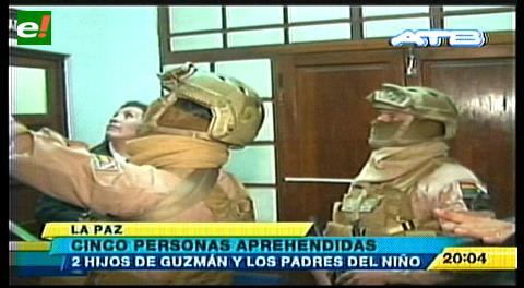 Detienen a familia de niño presentado como presunto hijo de Zapata y Evo