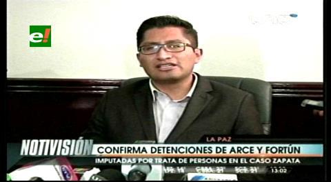 Fiscalía asegura que tía espiritual de Zapata cuidó al niño que suplantó al hijo de Evo