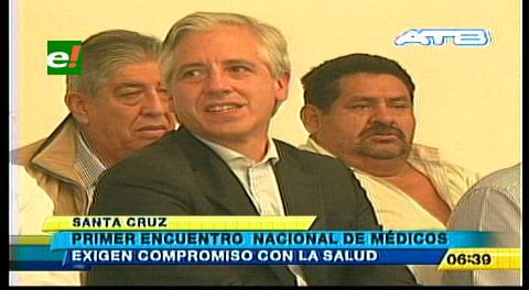 Vicepresidente clausura el primer Encuentro Nacional de Médicos