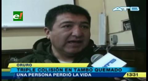 Accidente en Tambo Quemado deja un muerto