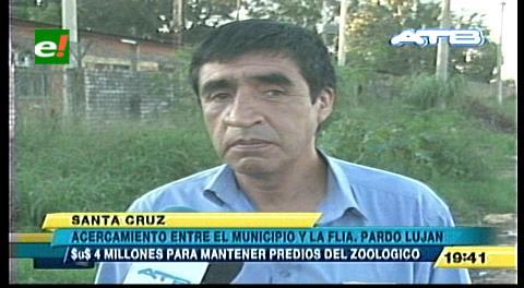 Predios del Zoológico: Familia Pardo acepta un lote y dinero
