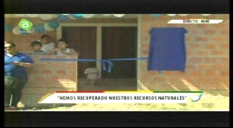 Gobierno entrega 60 viviendas sociales en Santa Rosa del Yacuma