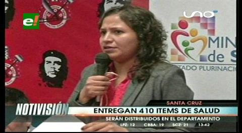 Gobierno asigna 410 ítems para Santa Cruz