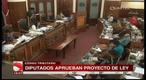 Aprueban proyecto de ley para modificar cinco artículos del Código Tributario