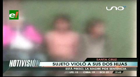 Hombre es acusado de violar a sus dos hijas durante años