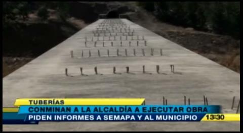 Denuncian que obras de construcción en Misicuni están paralizadas