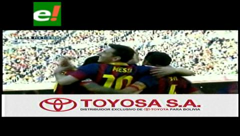 Barcelona gana 3-1 al Betis con doblete de Messi