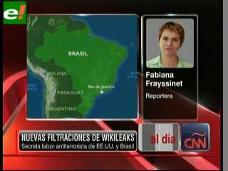 WikiLeaks: Brasil oculta cooperación antiterrorista con EEUU