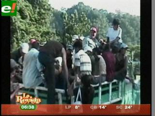 Toma de rehenes agrava crisis en Rurrenabaque