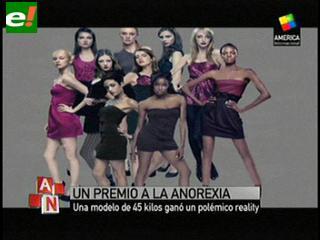 Estados Unidos: acusan a un reality de modelos de fomentar la anorexia