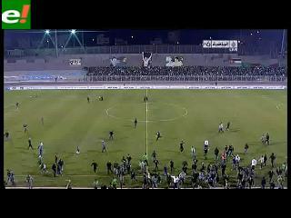 Jordania: Batalla campal acaba con 150 heridos en un partido de fútbol
