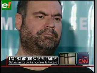 """""""El Grande"""" acusa a periodista de pedirle dinero"""