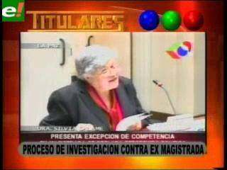 Proceso de investigación contra ex Magistrada