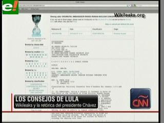 Lula pidió a Chávez que bajara el tono contra EEUU