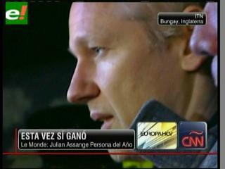"""""""Le Monde"""" nombra a Julian Assange """"Hombre del Año"""""""