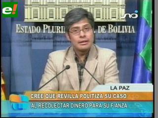 Gobierno dice que Revilla politiza su caso
