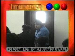 No logran notificar a la dueña del Málaga