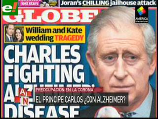 El príncipe Carlos tiene la enfermedad de Alzheimer