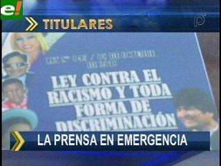 La prensa en emergencia