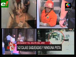Robo en el Banco Provincia de Buenos Aires: 143 es el número de cajas violentadas