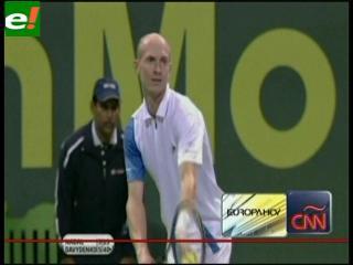 Davydenko elimina a Nadal y jugará la final de Doha contra Federer
