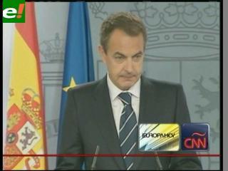 """Zapatero avisa a ETA que el comunicado no sirve y no permitirá """"ningún engaño"""""""