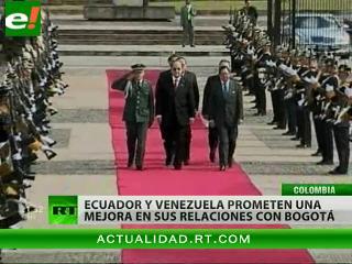 Los embajadores de Ecuador y Venezuela presentaron sus credenciales ante Santos