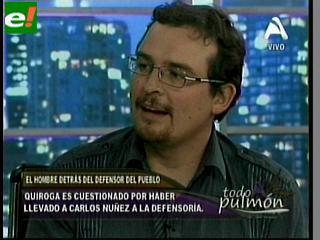 """Jaime Quiroga cuenta su verdad: """"Yo solo contacté a Carlos Núñez del Prado, no lo contraté"""""""