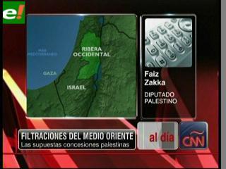 "Al Jazeera revela ""secretos"" de las negociaciones entre Palestina e Israel"