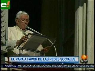 El Papa bendice las redes sociales
