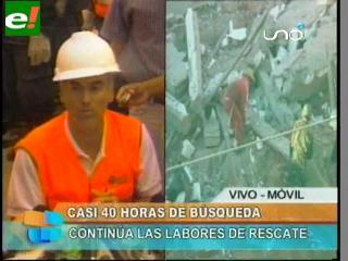 Llega más ayuda al edificio Málaga