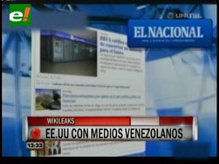 Medios de prensa venezolanos solicitaron financiamiento a EE.UU.