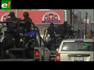 Estados Unidos alerta por escalada de violencia en Monterrey