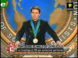 Tom Cruise, en apuros por una investigación del FBI a la Cienciología
