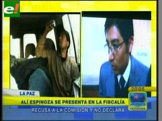 """Edson Alí Espinoza no declaró por el caso """"video-soborno"""""""