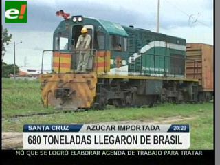 Guabirá importa 680 toneladas de azúcar de Brasil para frenar la escasez