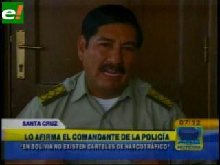 Comandante Nina confirma nexos de cártel colombiano en el país